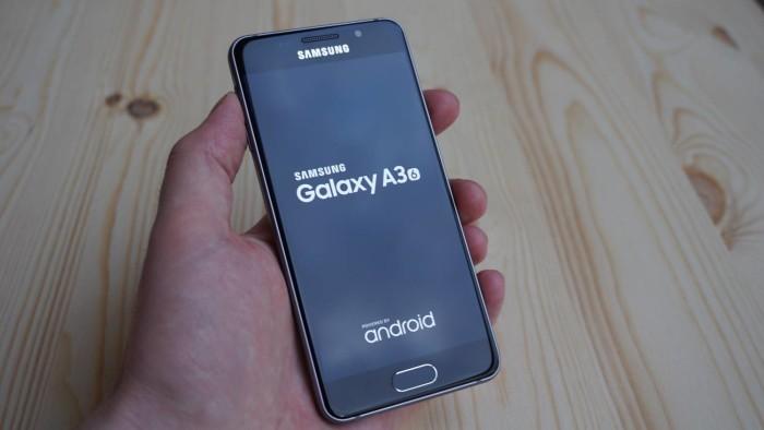 Galaxy A3 2016 Startvorgang