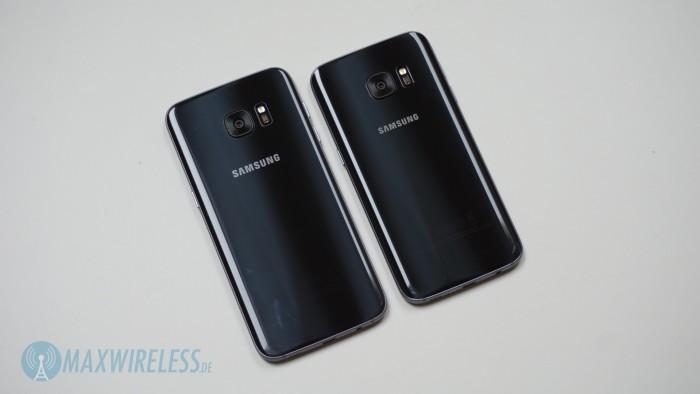 Galaxy S7 Rückseite Vergleich
