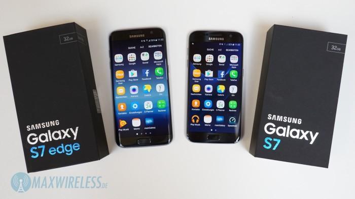 Galaxy S7 Vergleich Head