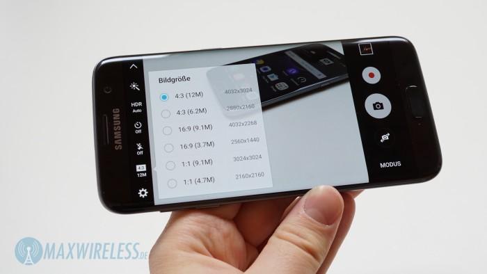 Galaxy S7 edge Kameraauflösung