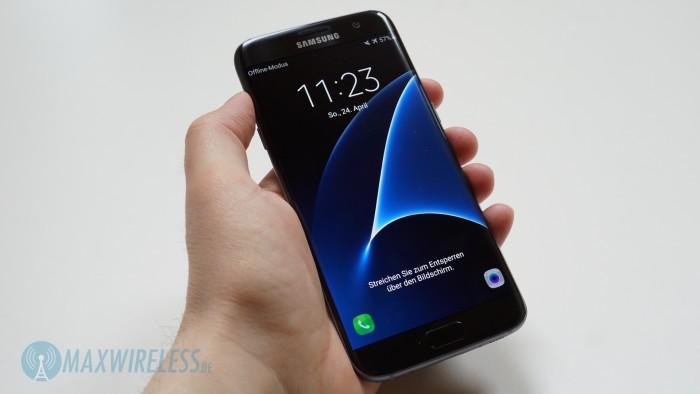 Galaxy S7 edge Lockscreen