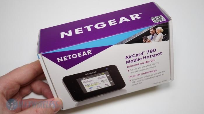 Verpackung Netgear AC790