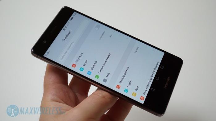 Huawei P9 Einstellungen