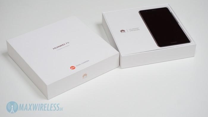 Verpackung Huawei P9