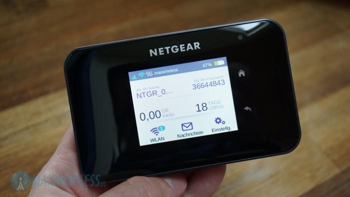 Display Netgear AC810