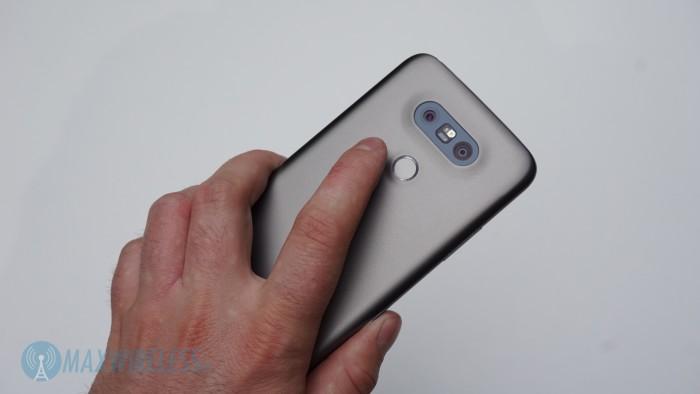 LG G5 Fingerabdrucksensor