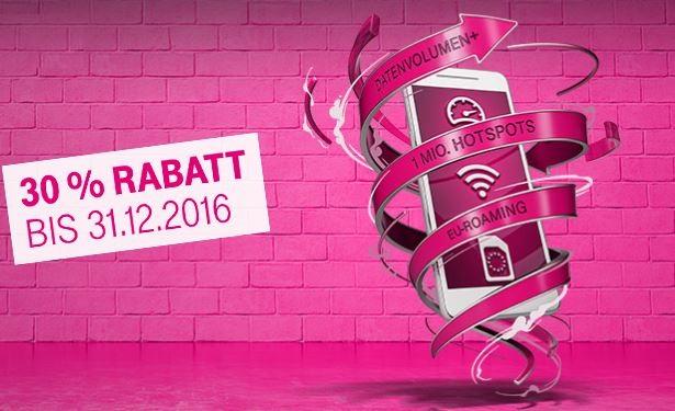 30% Rabatt auf for friends Tarife. Bild: Telekom