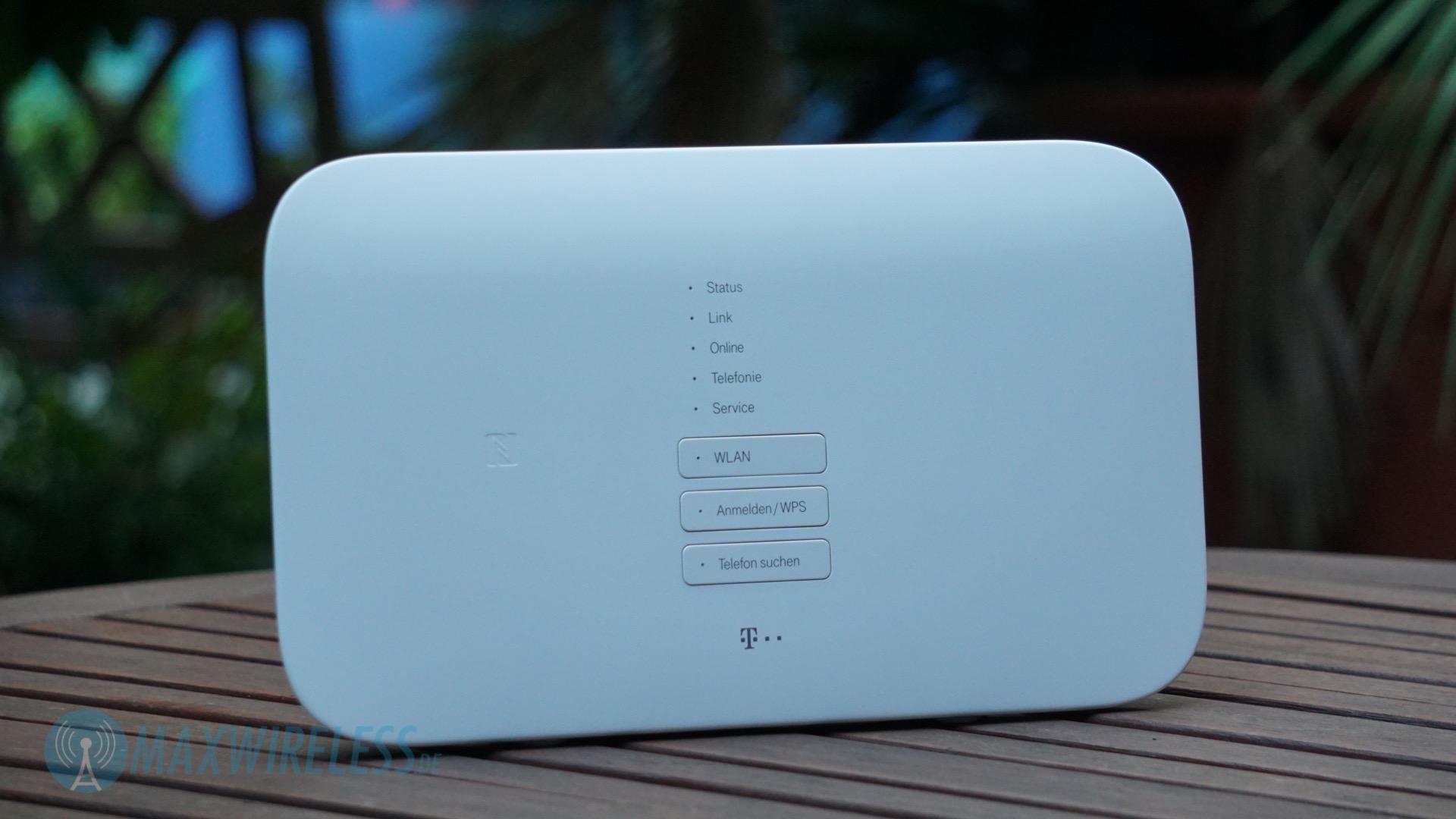 Der Telekom Speedport Smart Router. Optisch gibt es keinen Unterschied zum Speedport Smart 2.