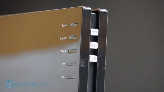 Die Tasten bieten einen guten Druckpunkt und die LEDs leuchten gleichmäßig.