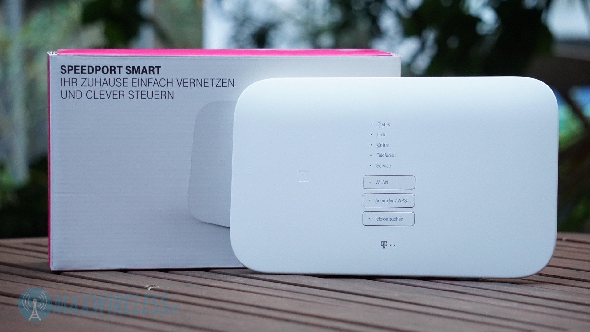 Test Telekom Speedport Smart Vdsl Router Maxwirelessde
