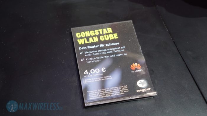 Congstar WLAN Cube