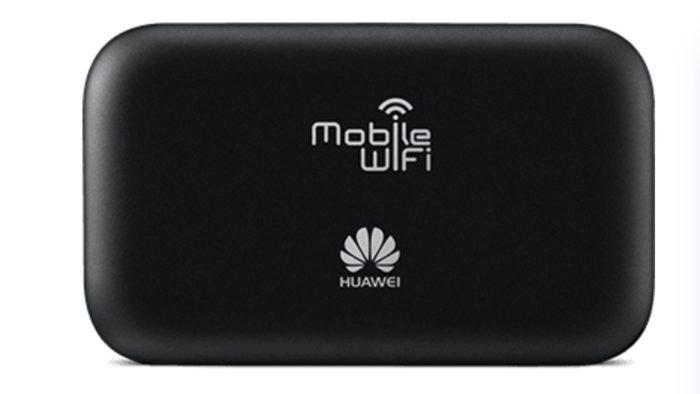 Die Rückeite des 1&1 Huawei E5573. Bild: 1&1