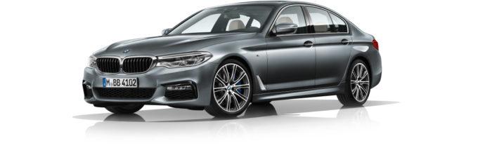 Die neue 5er BMW Limousine