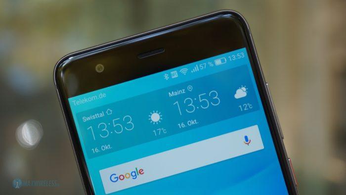 Das Display des Huawei nova samt Frontcam