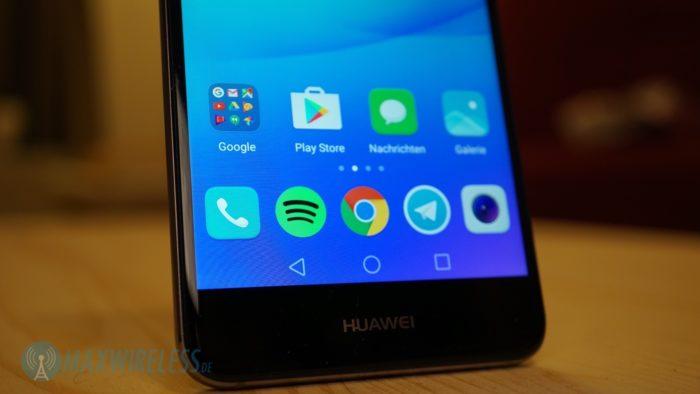 Onscreen-Tasten des Huawei nova