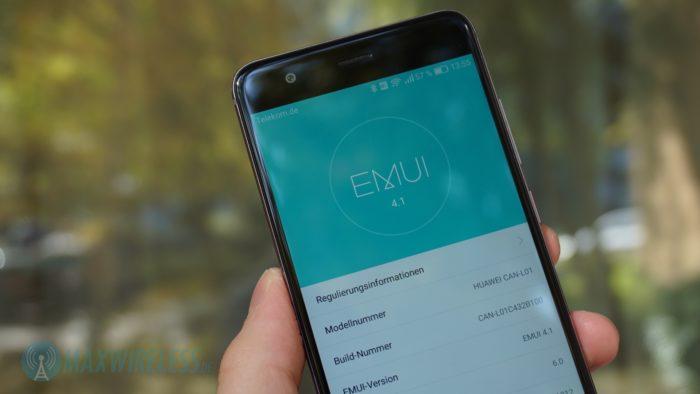 Huawei nova Software Version