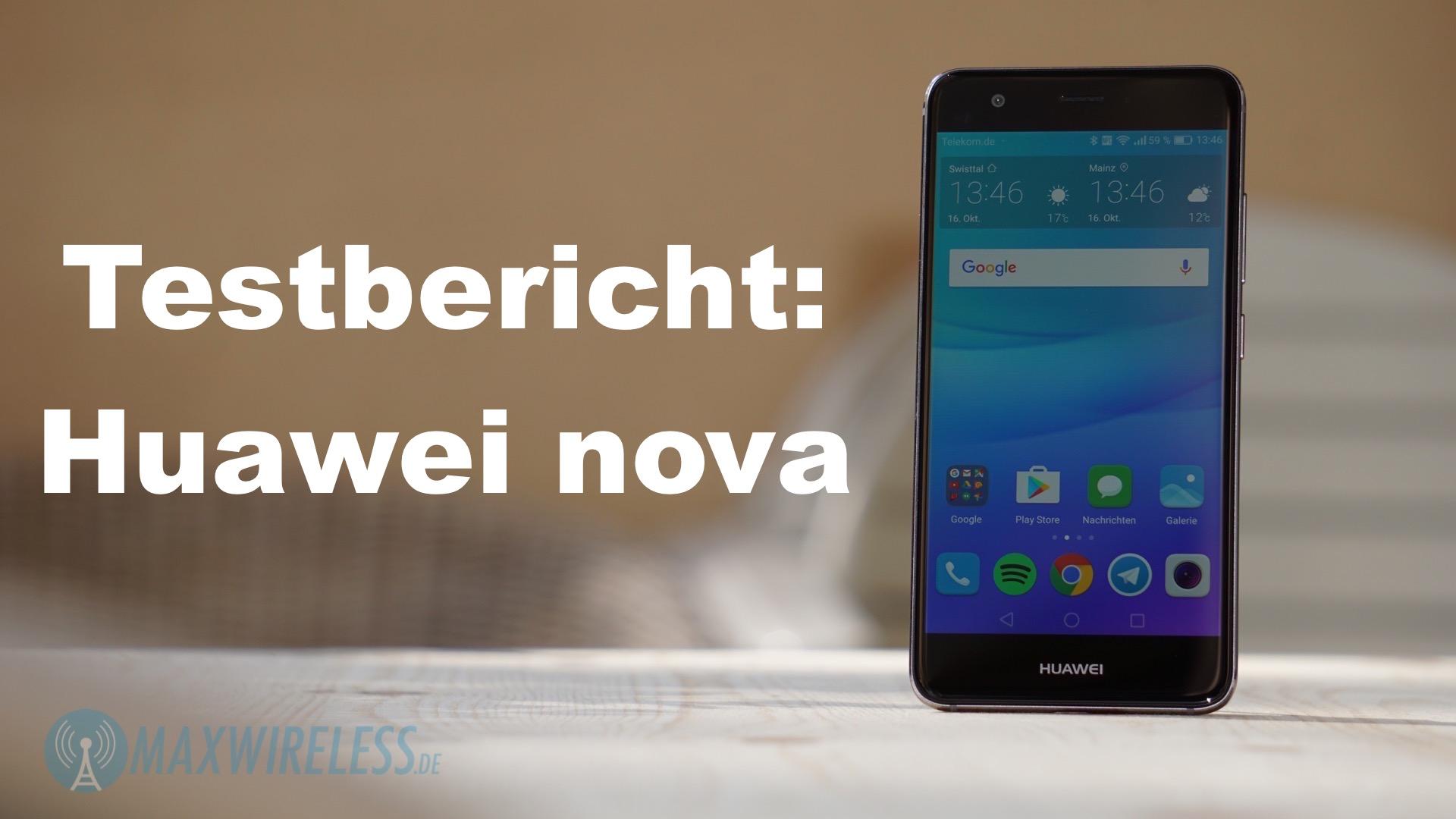 Testbericht Huawei nova