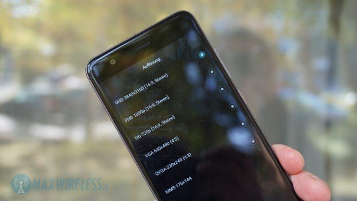 Huawei nova Foto Auflösungen