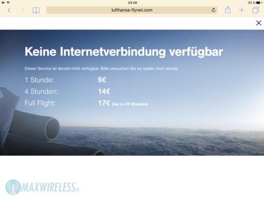 flynet-kein-internet