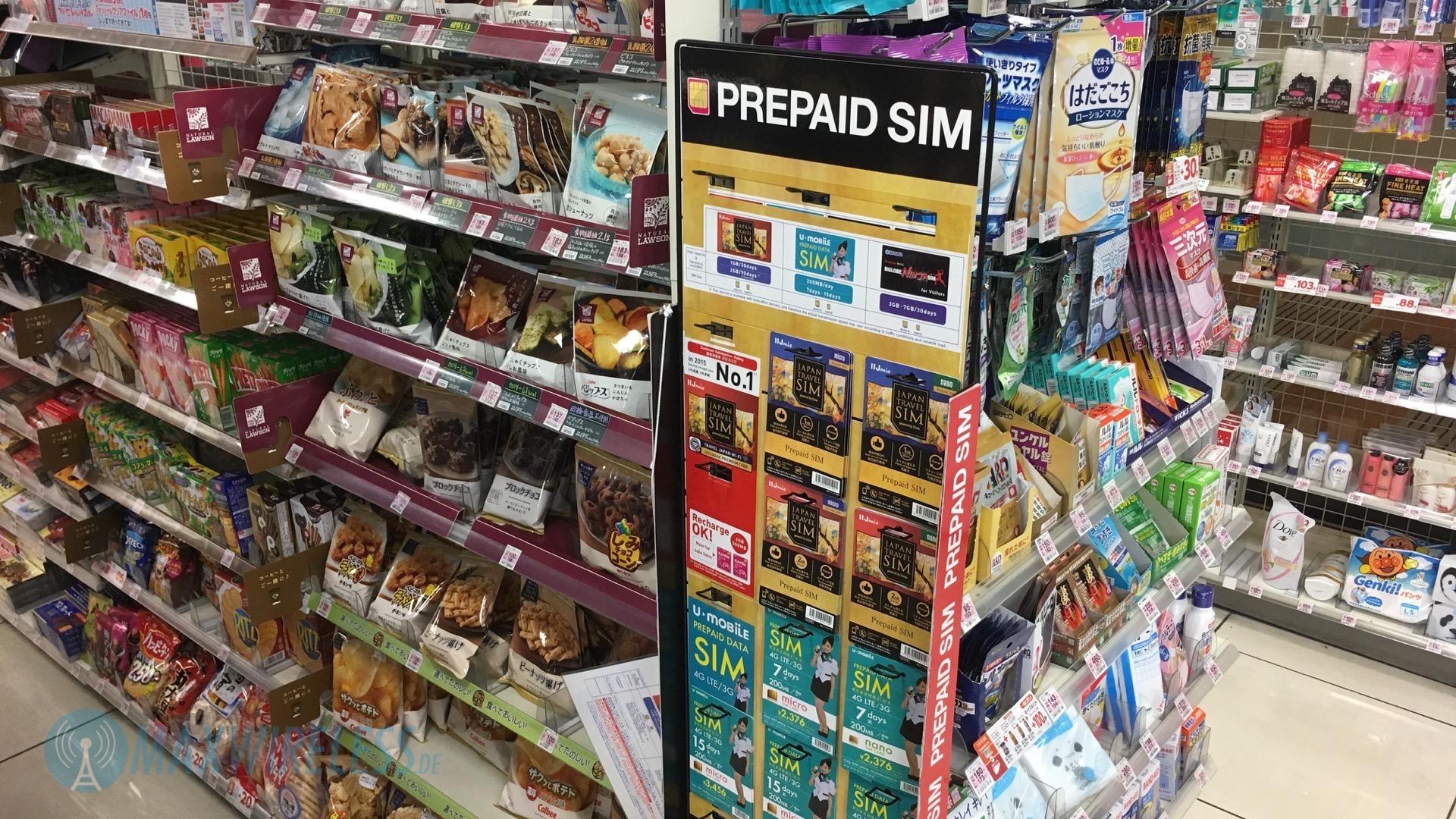 sim karte japan Erfahrungsbericht: Prepaid SIM Karte in Japan kaufen | maxwireless.de