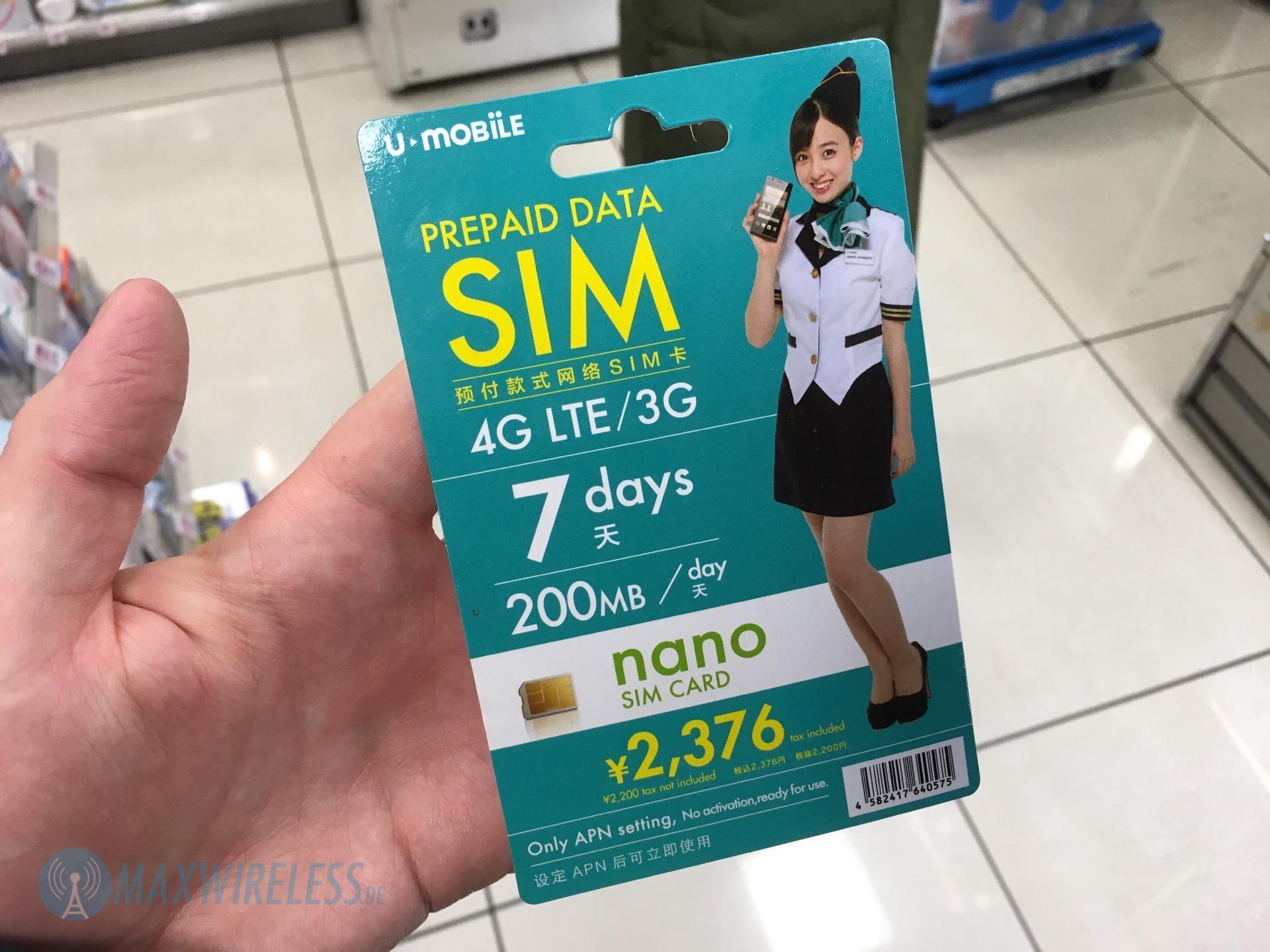 Japan Sim Karte.Erfahrungsbericht Prepaid Sim Karte In Japan Kaufen Maxwireless De