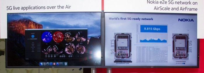 5G Demo von Nokia und Ooreo in Qatar. Bild: Nokia