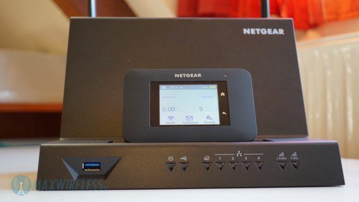 Netgear AC790 mit DC112A