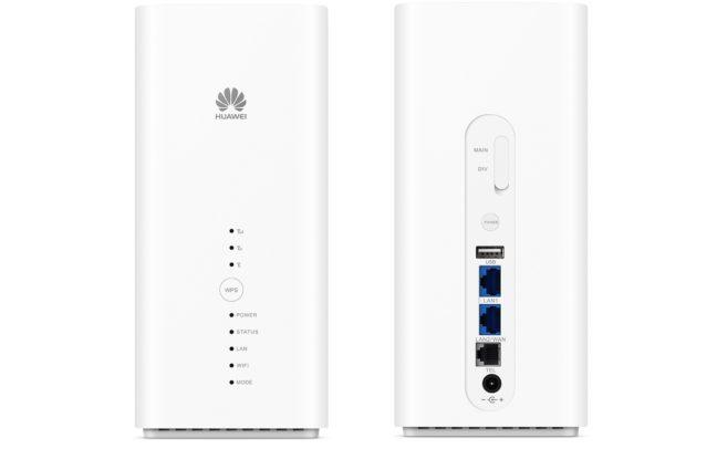 Der Huawei B618 Cat11 LTE Router.