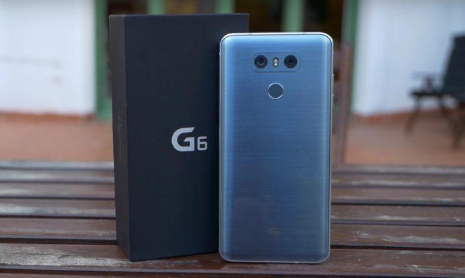 Rückseite des LG G6 mit den beiden Kameras.