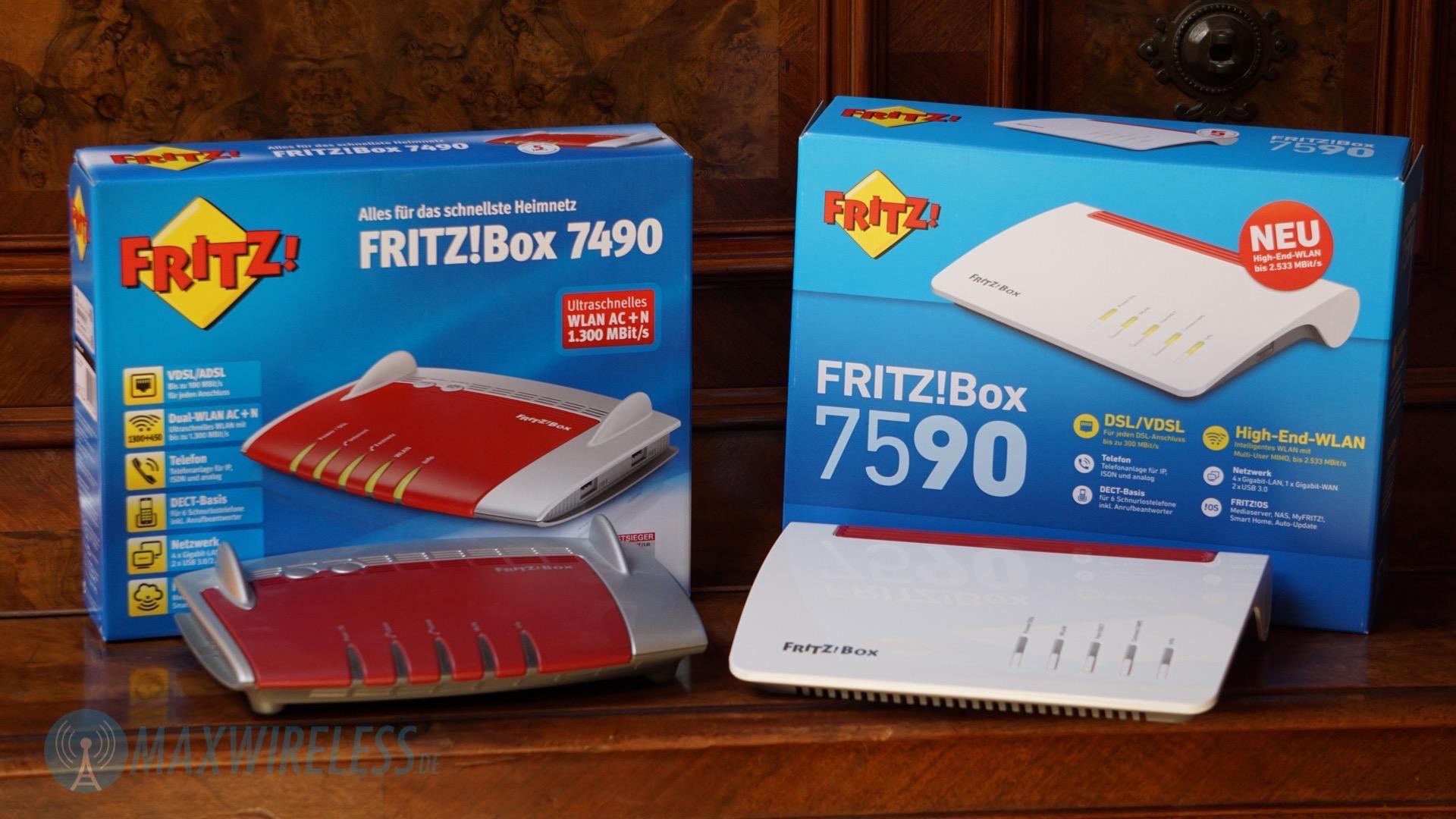 AVM FRITZBox 20 und 20 im Vergleich   maxwireless.de
