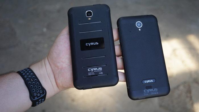 Cyrus CS 22 (links) und CS 28 (rechts).