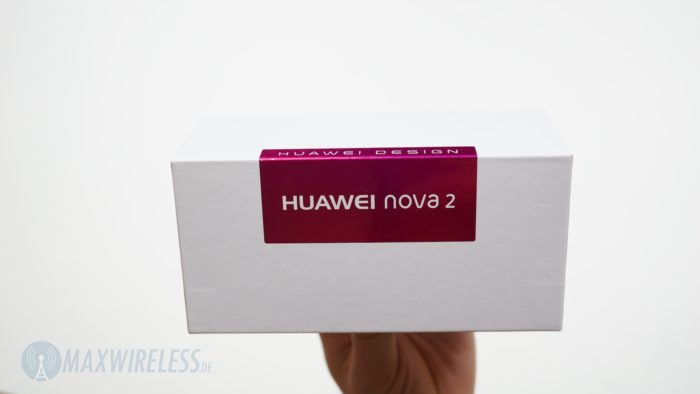 Verpackung des Huawei Nova 2.