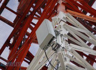 5G Massive MIMO Antenne im Test-Einsatz bei der Telekom.