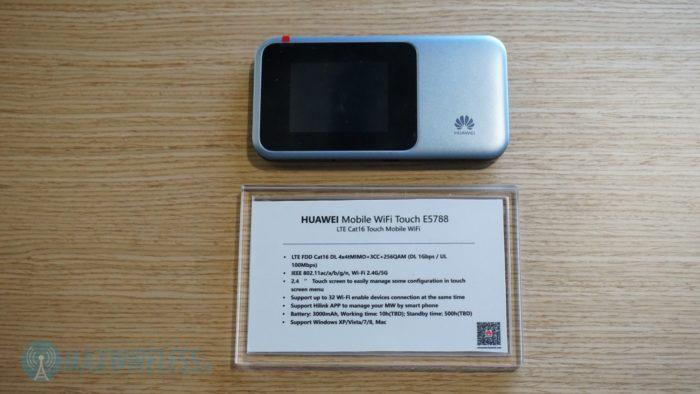 Technische Daten zum Huawei E5788.