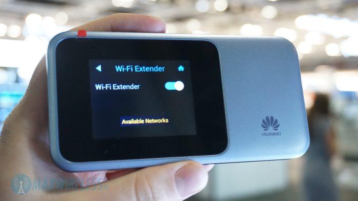 WiFi Extender Funktion beim Huawei E5788.