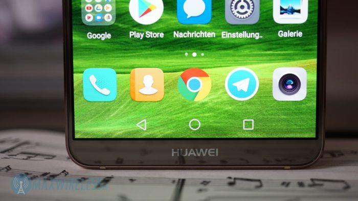 Die Display-Ränder sind beim Huawei Mate 10 Pro sehr dünn.