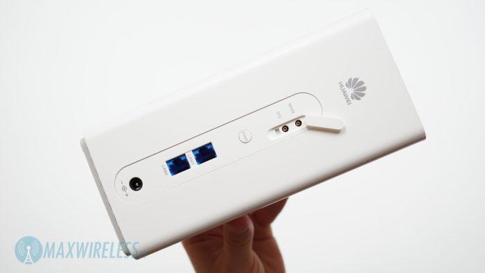 Anschlüsse an der Telekom Speedbox LTE IV.