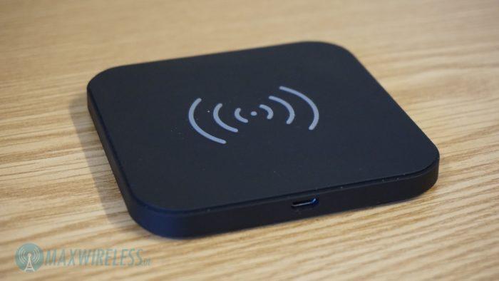 Einfaches Wireless Charging Pad von Choetech.