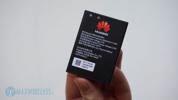 Der Akku des Huawei E5785.