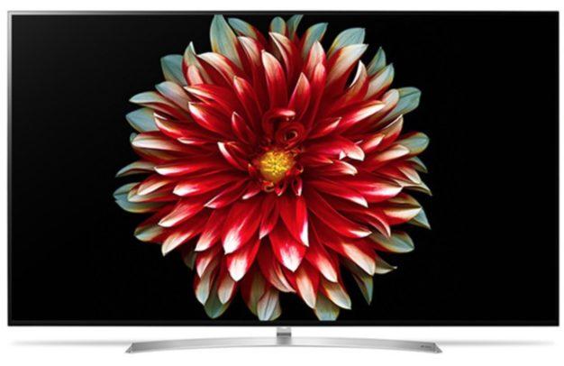 LG 55B7D OLED TV. Bild: LG.