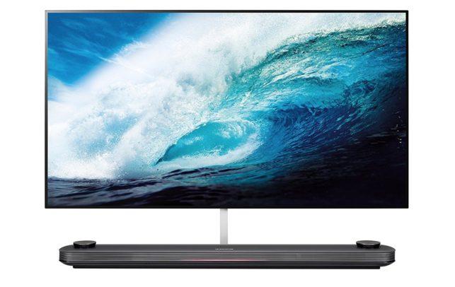 LG 65W7V Wallpaper OLED TV. Bild: LG.