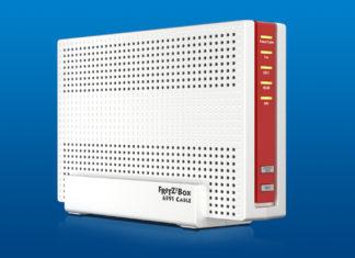 Die AVM FRITZ!Box 6591 Cable. Bild: AVM.