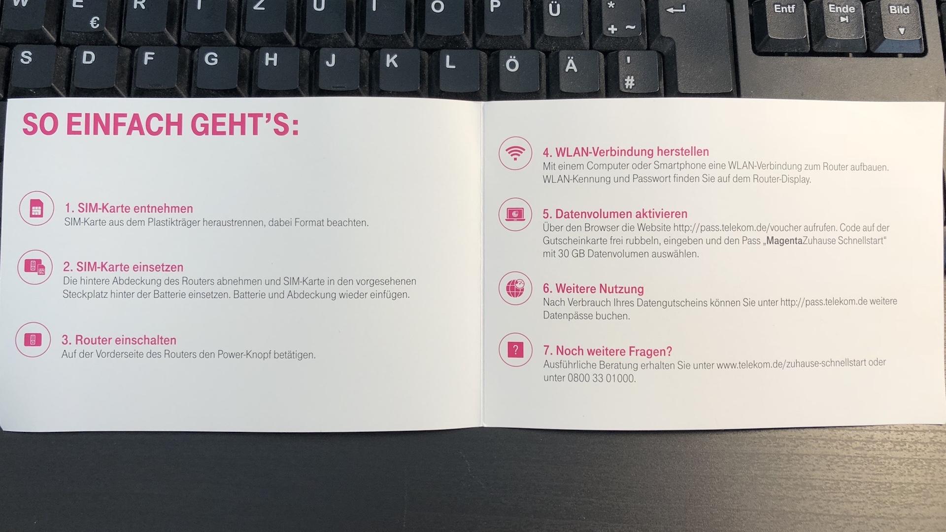 Telekom Karte Aktivieren.Test Telekom Magentazuhause Schnellstart Mit Lte Maxwireless De