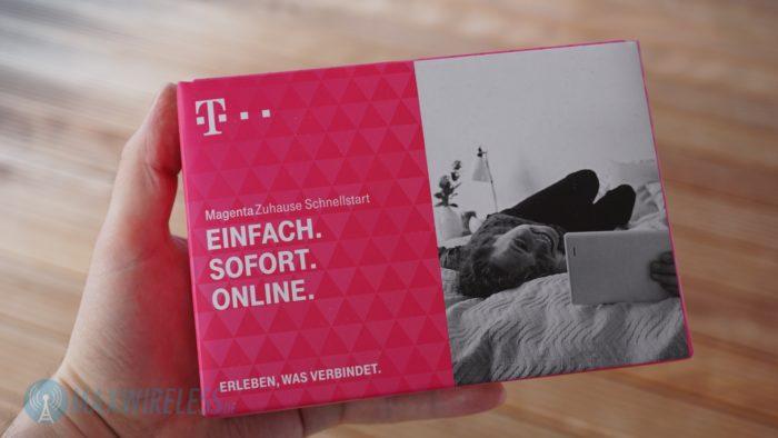 MagentaZuhause Schnellstart Packung.