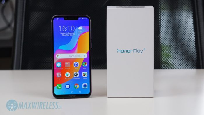 Das Honor Play Smartphone.