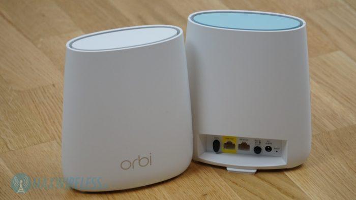 Das Netgear Orbi WLAN Set. Bild: maxwireless.de.