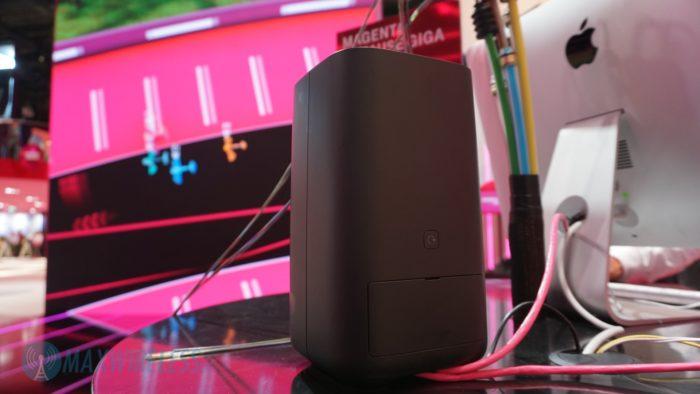 Der Telekom Speedport Pro Router (Rückseite). Bild: maxwireless.de.
