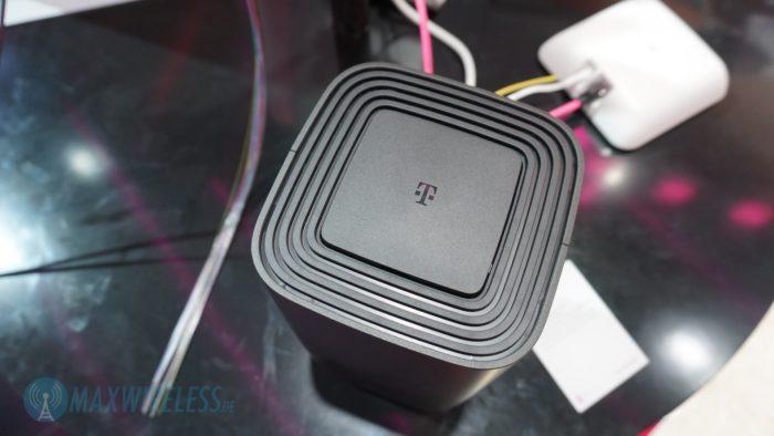 Der Telekom Speedport Pro von oben. Bild: maxwireless.de.