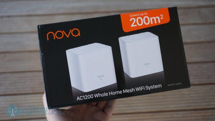 Die Verpackung des Tenda Nova MW3.