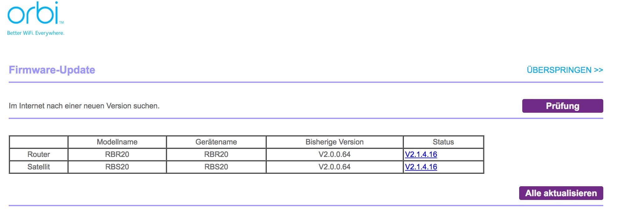 Test: Netgear Orbi RBK20 Mesh WLAN Set | maxwireless de